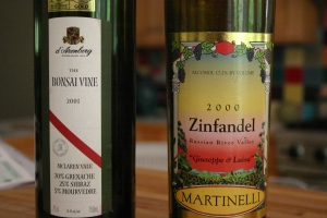 martinelli/d\'arenberg